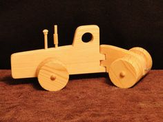Big Eight Wheel Tractor by ToysByJohn on Etsy, $12.99