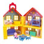 Peppa Pig Peppa's Deluxe House Play Set wit..