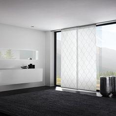 Fantastisch Flächenvorhang Wave Weiß. Wohnung Möbel ...