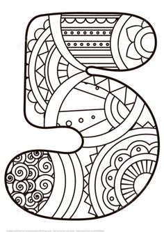 Zentangle Numbers Coloring pages. Select from 31983 printable Coloring pages of cartoons, animals, nature, Bible and many more. Star Coloring Pages, Free Printable Coloring Pages, Coloring Pages For Kids, Coloring Sheets, Coloring Books, Music Poster, Numbers Preschool, Printable Crafts, Alphabet And Numbers