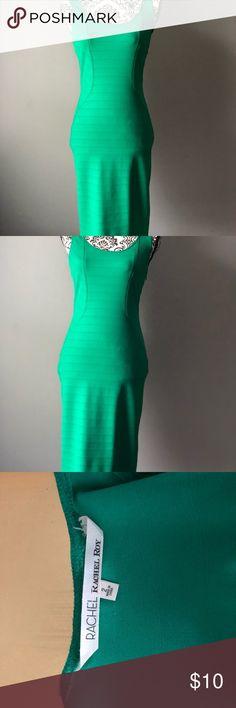 Rachel Roy Green body-con dress Fitted green body-con dress! Great stretch Rachel Roy Dresses Midi