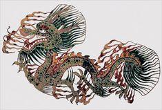 resin dragon puppet