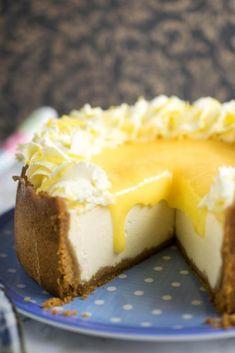 Instant Pot Lemon Ginger Cheesecake