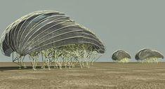 Theo Jansen's Stunning Wind-Powered, Walking Sculptures :http://art-sheep.com/theo-jansens-stunning-wind-powered-walking-sculptures/