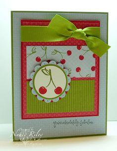 love this cherry card