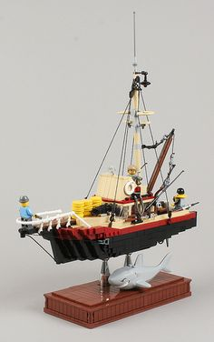 We're gonna need a bigger boat. Lego
