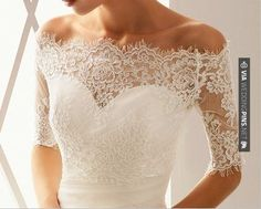Yes - lace off-the-shoulder bolero pattern | CHECK OUT MORE GREAT SAN DIEGO WEDDING PHOTOS AND IDEAS AT WEDDINGPINS.NET | #weddings #wedding #sandiego #sandiegowedding #sandiegoweddingphotographer #bachelorparty #events #forweddings #fairytalewedding #fairytaleweddings #romance