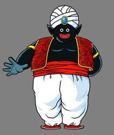 Dragonball cartoon series - Mr. Popo