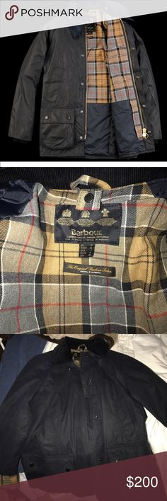 Barbour navy jacket Barbour womens navy bedale jacket, size 6, great condition barley worn! Barbour Jackets  Coats Utility Jackets