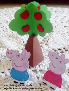 Bebês e Mimos Festas: Festa Peppa Pig