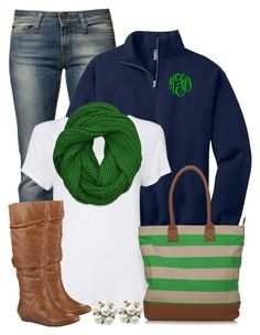 """Green & Navy"" by qtpiekelso ❤ liked on Polyvore featuring Miss Sixty, Witchery, Abercrombie & Fitch and Gianni Bini"