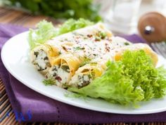 Cannelloni With chicken and cheese «Philadelphia»