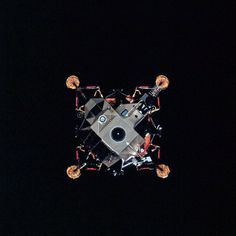 Apollo 14 LEM, courtesy Retro Space Images