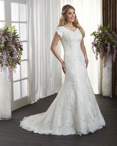 eca8b72704bf 88 Best Modest Wedding Gowns images | Wedding gowns, Bridal dresses ...