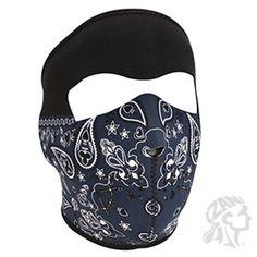 ZANheadgear Neoprene Face Mask Blue Paisley Bandanna for sale online Neoprene Face Mask, Full Face Mask, Face Masks, Flame Design, Mens Jogger Pants, Ralph Lauren Baseball Cap, Aztec Art, Cool Masks, Winter Hats For Men
