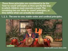 The Five Principles of Early Counting - YouTube