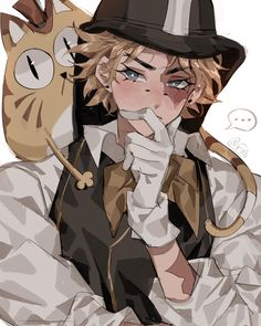 Character Concept, Character Art, Character Design, Manga, Magic Cat, Identity Art, Slayer Anime, Boy Art, Fantasy
