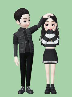 Cute Couple Cartoon, Cute Love Cartoons, Harry Potter Drawings, Digital Art Girl, Cute Cartoon Wallpapers, Cute Bears, Baby Boy Fashion, Disney Wallpaper, Cartoon Art