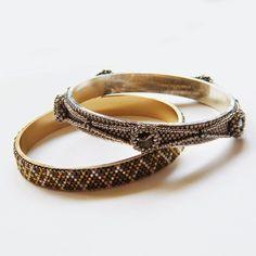 www.polandhandmade.pl   #polandhandmade #bracelet #bangle #beading #Swarovski