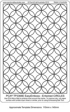 New template TP3368E-Entwined-Circles