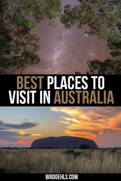 Australia is massive and it's hard to know exactly where to go on a trip. Here are some of the best places to visit in from beautiful sand islands, lush rainforests, interesting and colourful cities and the red and rugged outback. Cool Places To Visit, Places To Travel, Travel Destinations, Places To Go, Coast Australia, Visit Australia, Australia Trip, South Australia, Western Australia