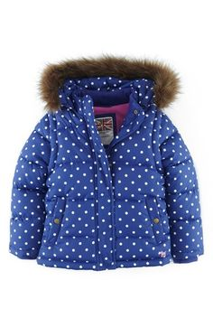 Mini Boden 2-in-1 Quilted Jacket (Toddler Girls, Little Girls & Big Girls)