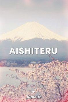 Japonés (Japón): Aishiteru