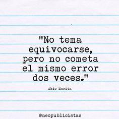 #inspiración #errores  #creatividad #quotes #frases