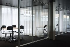 LIQUID classic an efficient translucent soundabsorbing acoustic curtain fabric Curtain Fabric, Curtains, Architecture Office, Cool Rooms, Windows, Flooring, Classic, Interior, Wall