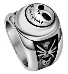 SA366 Men's Retro Roman Character Forefinger Men Stainless Steel Ring,Silver -- This is an Amazon Affiliate link. Learn more by visiting the image link.