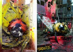 Big Trash Animals: Artist Turns Junk Into Animals To Remind Us About Pollution (18 pics.) By Artur Bordalo's (aka Bordalo II)