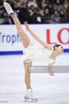 Satoko Miyahara of Japan competes in the Ladies free skating during the ISU Grand Prix of Figure Skating NHK Trophy on November 26, 2016 in Sapporo, Japan.
