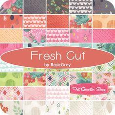 Half of the newest Feck Quilt - Moda Fresh Cut (BasicGrey!!!!!! SQUEEEEEEEL!)