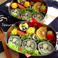 Sushi mameshiba bento