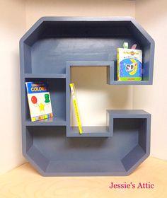 A-Z Letter Shelf by Jessie's Attic
