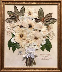 Wedding Flowers In A Bouquet Layout