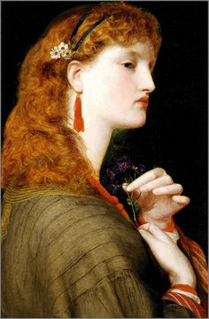 "Frederick Sandys (1829-1904), English ""Pre-Raphaelite"" painter, illustrator and draughtsman of the Victorian era."