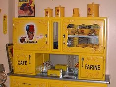 Buffet ann e 50 on pinterest 50s kitchen retro kitchens for Meuble cuisine 1950