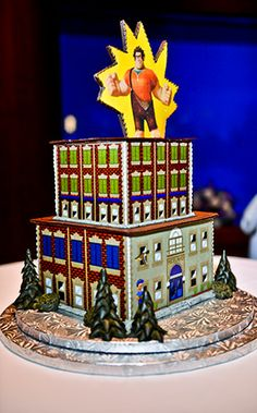 "Wedding Cake Wednesday: A bit ""unusual"":  Wreck-It RalphEver After Blog | Disney Fairy Tale Weddings and Honeymoon"
