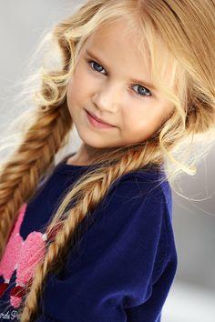 Anastasia Orub (born May 15, 2008) Russian child model. Aleksandra Strizh Photography.