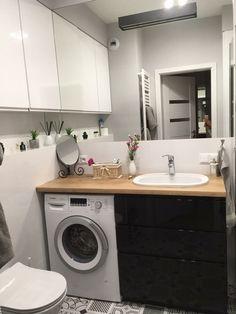 Small Space Bathroom, Laundry Room Bathroom, Bathroom Design Small, Dyi Bathroom Remodel, Condo Interior Design, Bathroom Countertops, Modern Bathroom Decor, Planer, Home