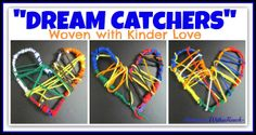 Martin Luther King, Jr: Dream Weaving Project Dream Catchers Woven with Kinder-Luv as Gifts for Debbie Clement of RainbowsWithinReach Kindergarten Art Lessons, Kindergarten Crafts, Preschool Crafts, Kindergarten Teachers, Martin Luther King, Weaving Projects, Art Projects, Crafty Projects, Art For Kids