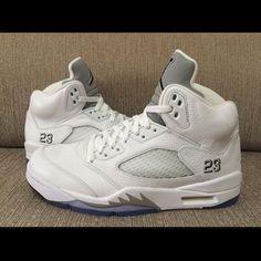 Jordan 5 Metallic Silver Size 11.5