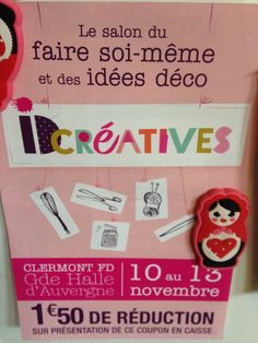 Salon ID creatives à Clermont Ferrand 11/12/13 novembre 2016- charlotteblabla blog*