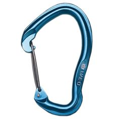 Omega Pacific Five-O Wire Carabiner | Five generations of development have perfected this carabiner. Huge gate clearances with deep baskets provide effortless clipping. | at www.weighmyrack.com