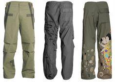 Maharishi Ski Pants - very turn-of-the-millenium