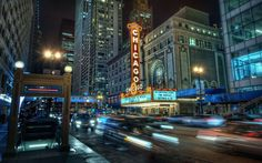 Chicago, USA Chicago Theatre Truly beautiful!!!