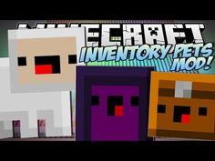 Minecraft | INVENTORY PETS MOD!! (Summon Lightning, EXPLODE & More!) | Mod Showcase - YouTube