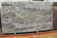 Granite Countertop Monte Cristo Granite-our ginormous island - Refinish Countertops, Cheap Countertops, Concrete Countertops, Kitchen Countertops, Granite Kitchen, Kitchen Redo, Kitchen And Bath, Kitchen Design, New Kitchen