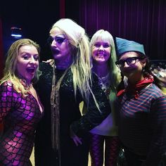 bunny Love @vinsantosdefonte Bambi the Mermaid @kittenonthekeys Bella Blue's Birthday Joy Theater #neworleans #frenchquarter #neworleans by kittenonthekeys
